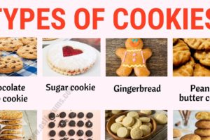 Types of Cookies: List of 20+ Different Types of Cookies with ESL Picture! 9