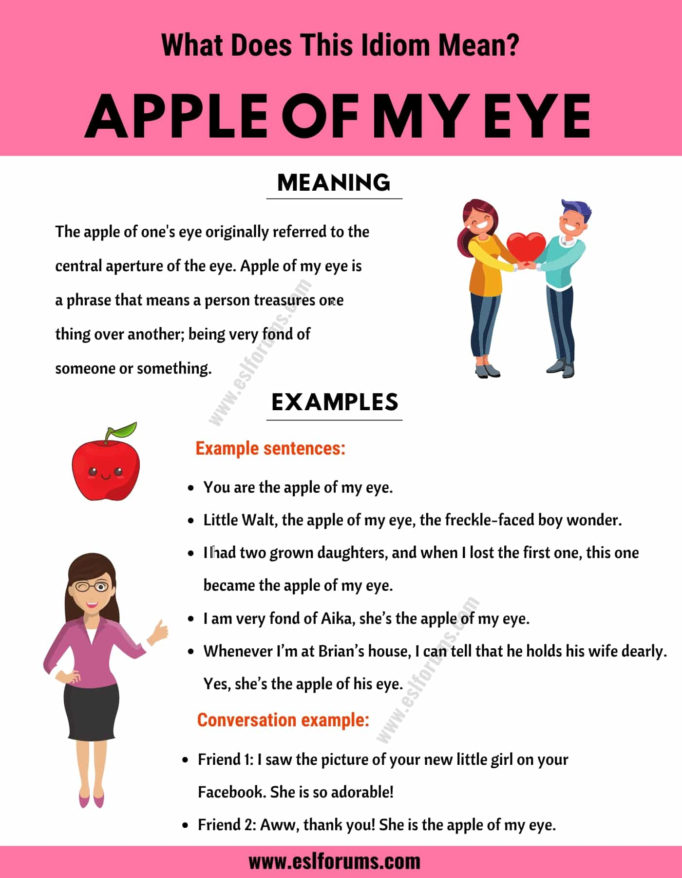 Apple of my Eye: What in The World Does This Trendy Idiom Mean?