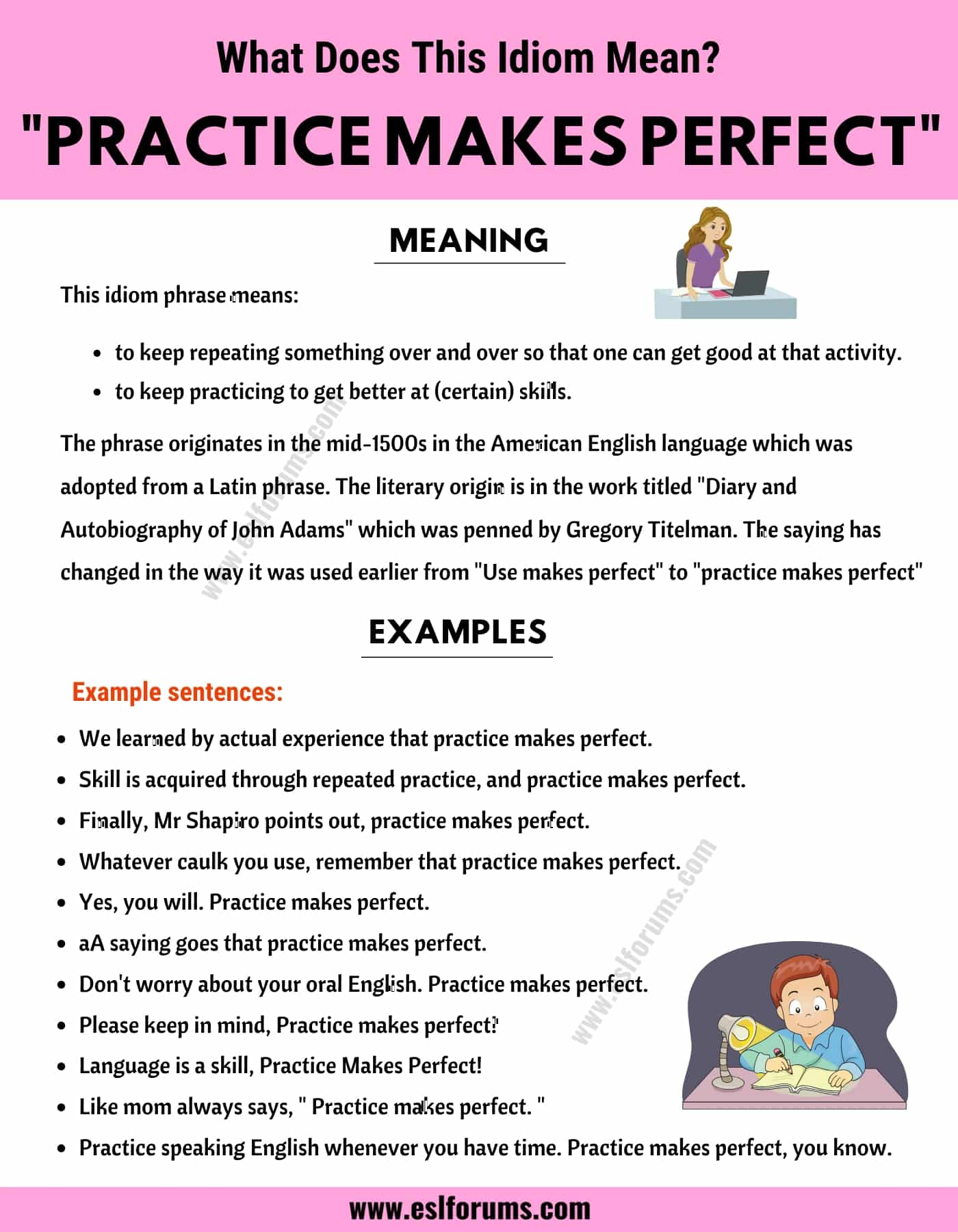 Practice Makes Perfect: What Does This Interesting Idiom Mean?