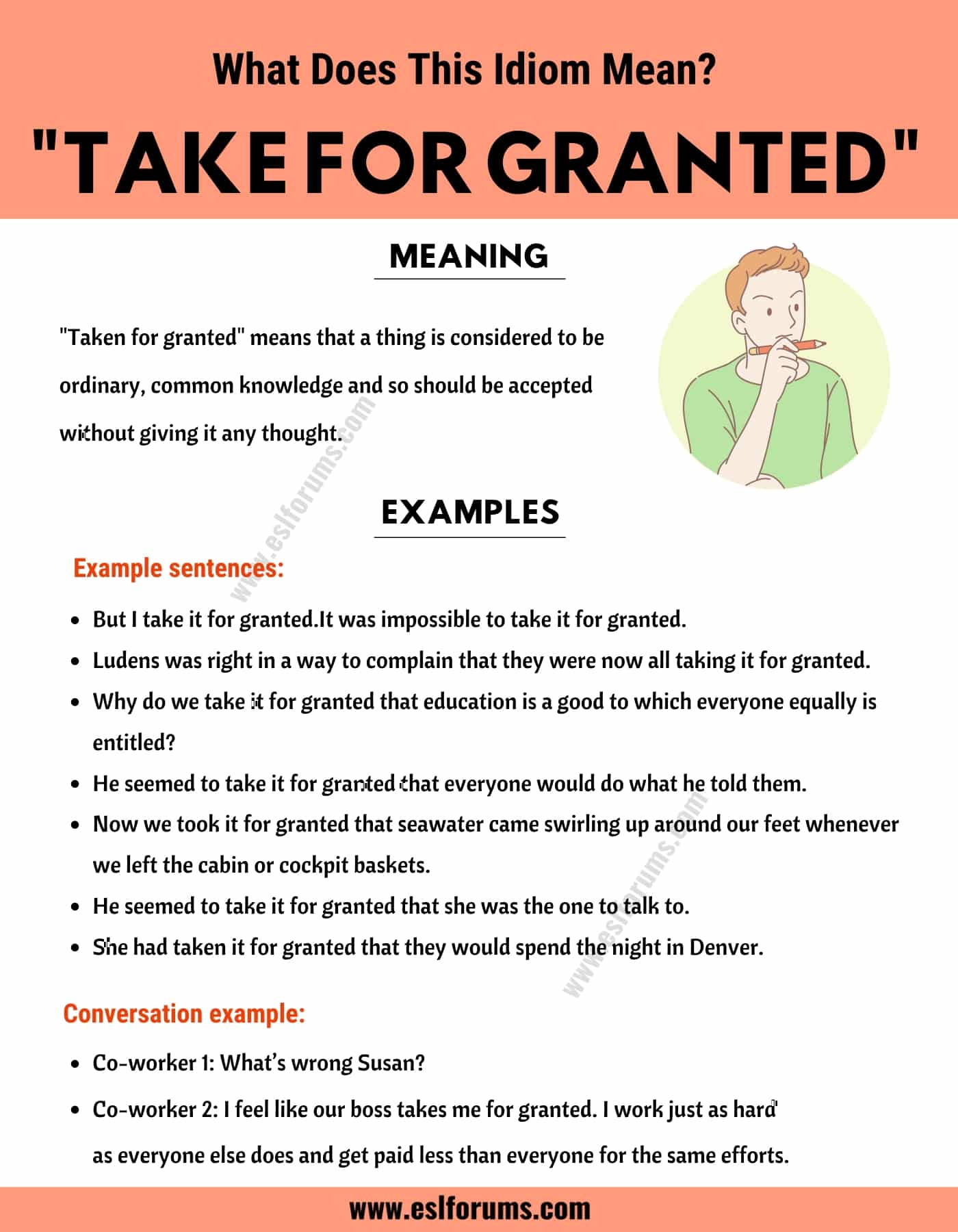 Take for Granted: How Do You Define this Trendy Idiom?