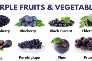 Purple Vegetables: List of 24 Purple Fruits and Vegetables in English 6