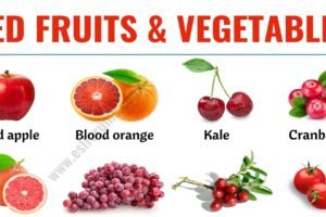 Red Fruits: List of 20+ Red Fruits & Vegetables in English 11