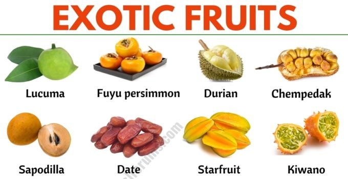 Exotic Fruits: List of 45+ Exotic Fruits From All Around the World 1