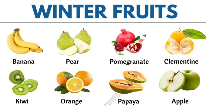 Winter Fruits: List of 15+ Types of Fruits You Can Find in the Winter 1