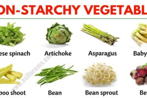 Non Starchy Vegetables: List of Non-starchy Vegetables with the Picture! 3