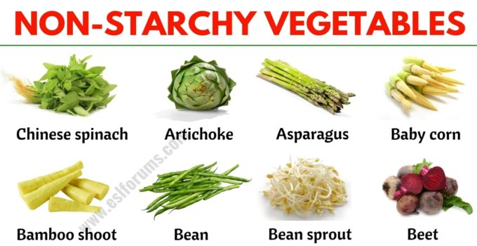 Non Starchy Vegetables: List of Non-starchy Vegetables with the Picture! 1