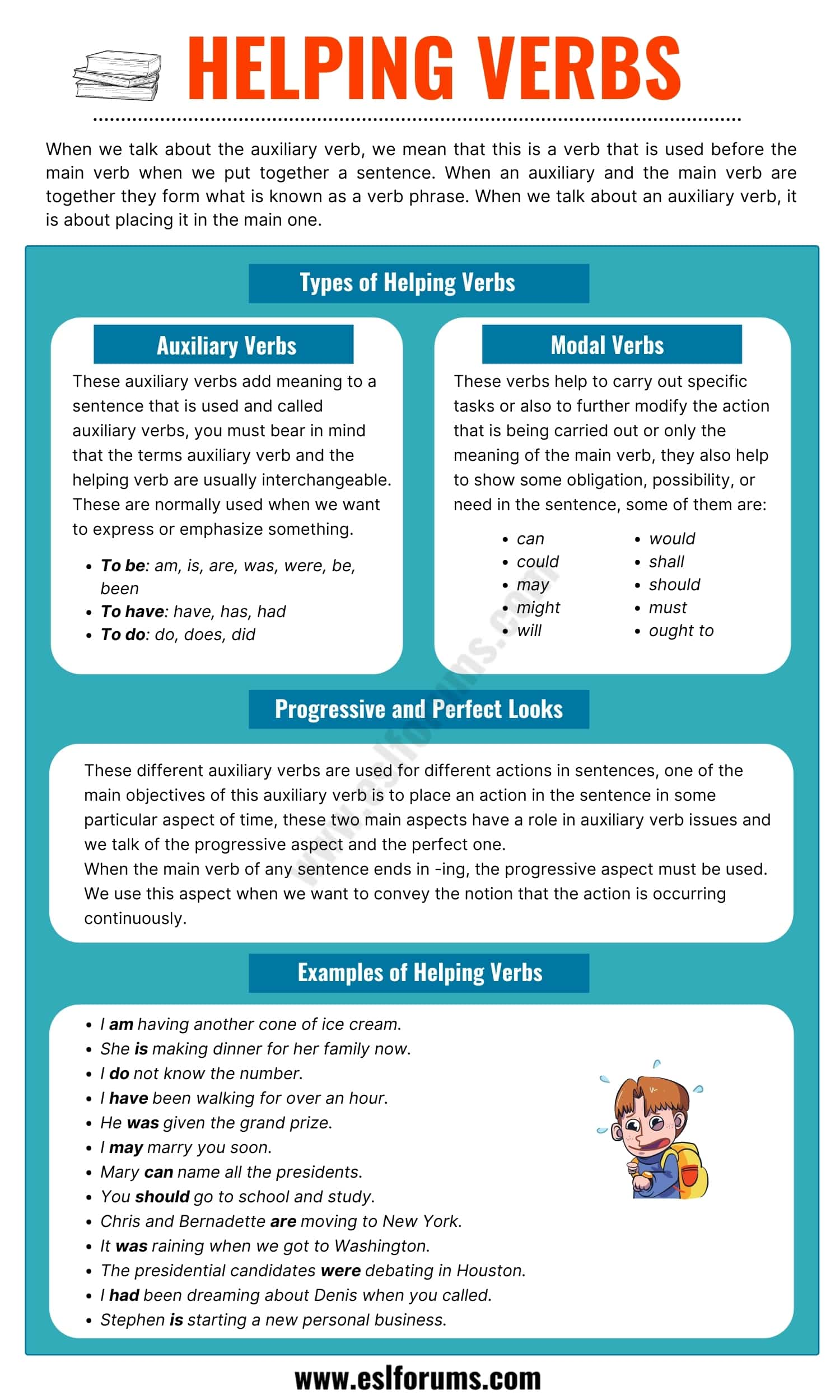 Helping Verbs: Definition, Types and Some Useful Examples